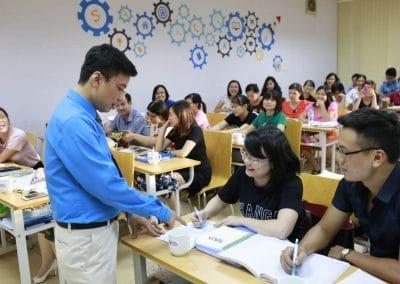 Ảnh lớp học tại TACA 3