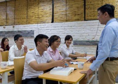 Ảnh lớp học tại TACA 4