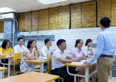 Ảnh lớp học tại TACA 5