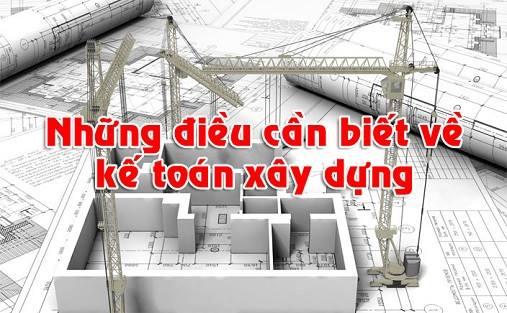 Công việc của một kế toán xây dựng cần làm những gì?