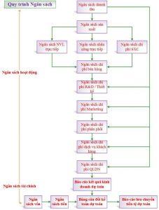 Quy trình lập kế hoạch ngân sách