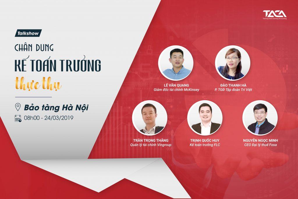 """Event """"Chân Dung Kế Toán Trưởng Thực Thụ"""""""