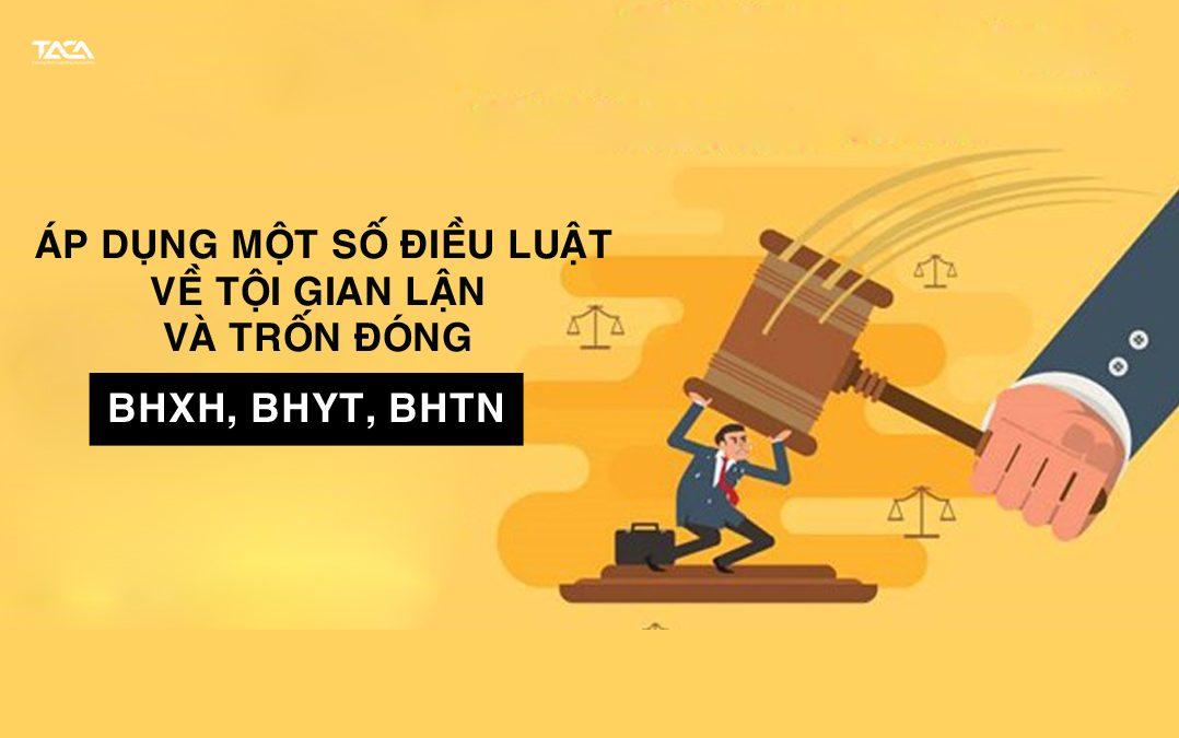 Một Số Điều Luật Được Áp Dụng Về Tội Trốn Đóng – Gian Lận BHXH, BHYT, BHTN