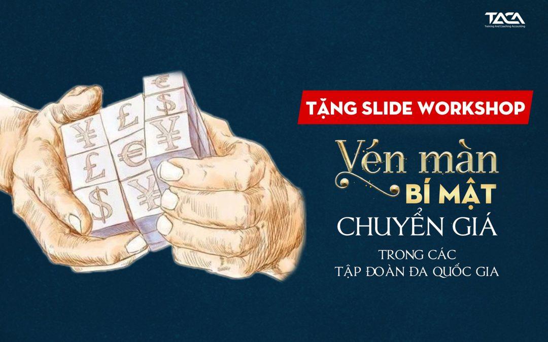 [Tặng slide] Bí mật chuyển giá trong các doanh nghiệp FDI ở Việt Nam