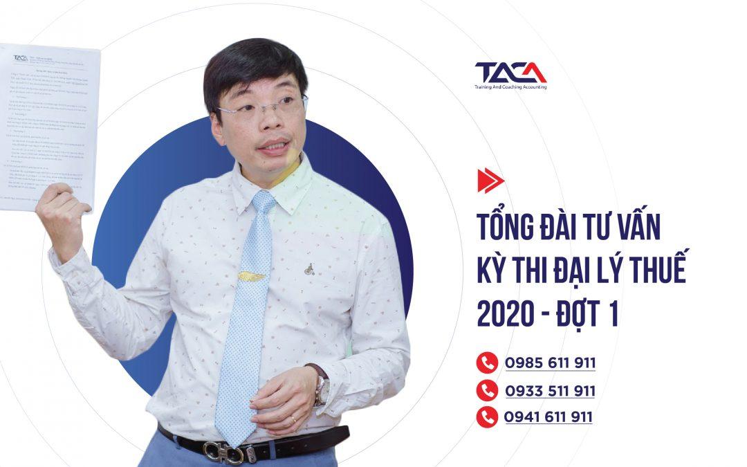 Thiết lập tổng đài tư vấn hỗ trợ thí sinh xuyên suốt kỳ thi Đại lý thuế 2020