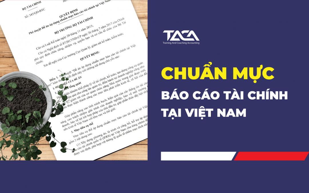 Chính thức áp dụng chuẩn mực báo cáo tài chính tại Việt Nam
