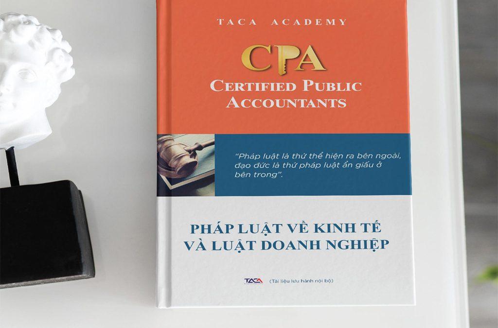Sách luyện thi CPA môn Pháp luật về kinh tế và luật doanh nghiệp