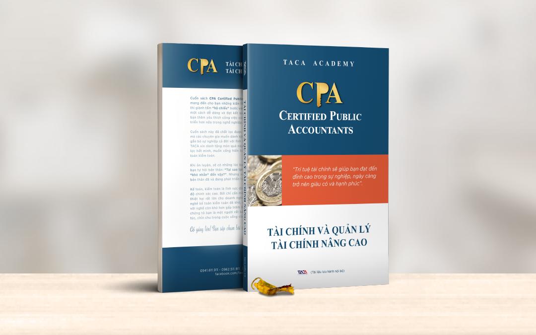 Sách luyện thi CPA môn Tài chính và quản lý tài chính nâng cao