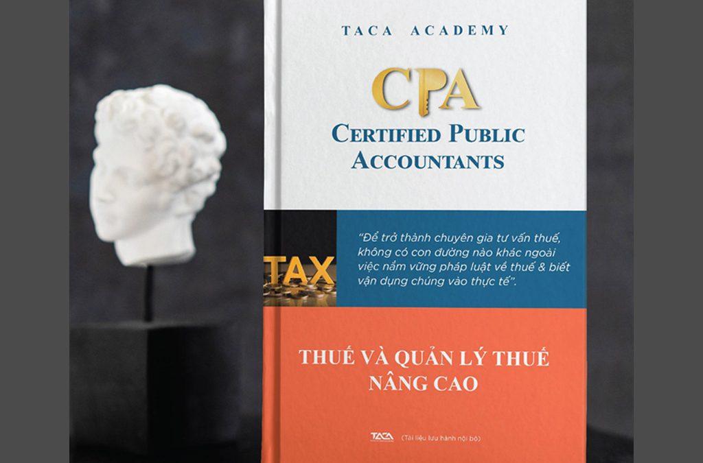 Sách luyện thi CPA môn Thuế và quản lý thuế nâng cao
