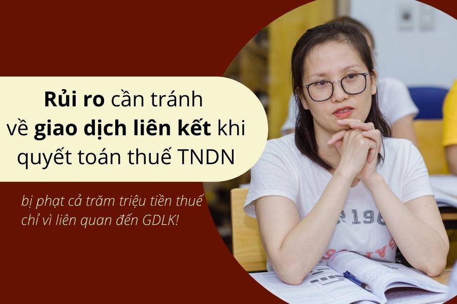 Rủi ro cần tránh về giao dịch liên kết khi quyết toán thuế TNDN